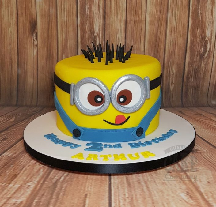 Minion head birthday cake - Tamworth