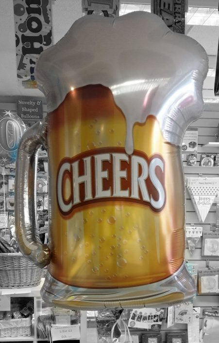 Beer glass novelty balloon - tamworth