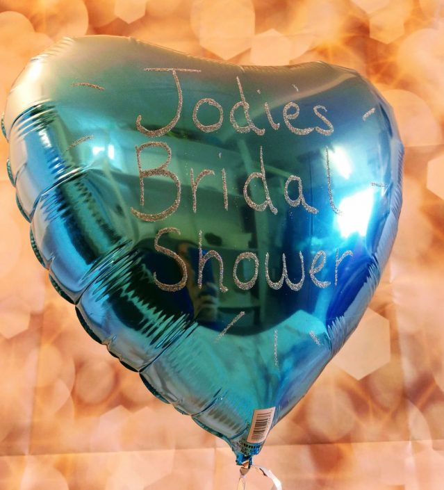 personalised hen party bridal shower balloon tamworth