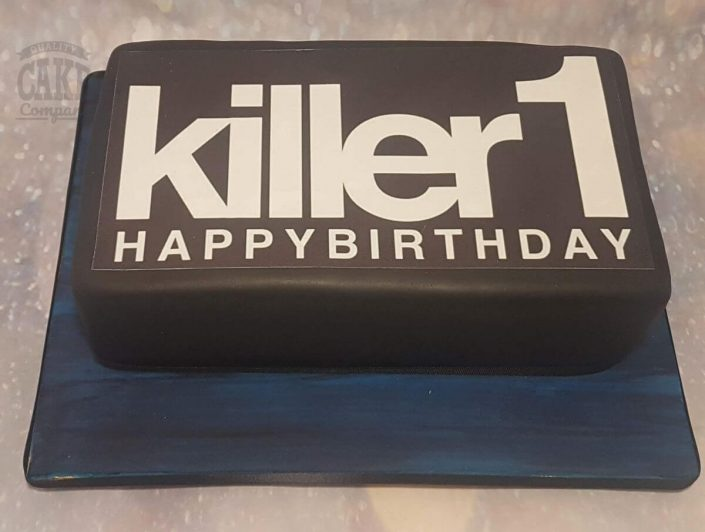 Killer 1 corporate celebration cake - tamworth west midlands