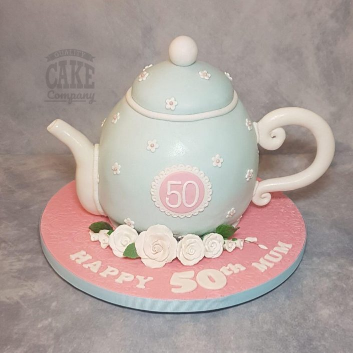 vintage teapot novelty cake - tamworth