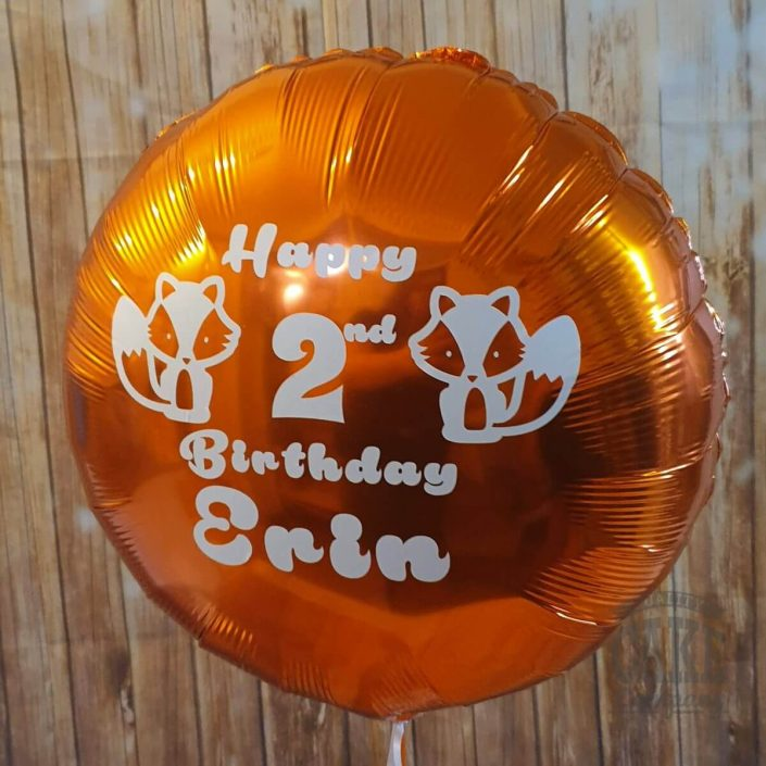 personalised foil balloon - tamworth