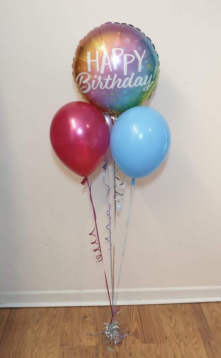 mixed bunch of foil and latex balloons - tamworth