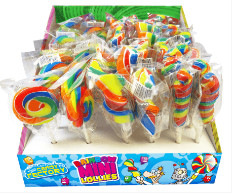 mini sweetie lolly lollipop - tamworth