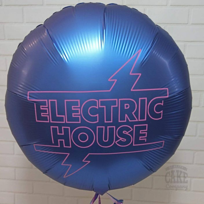 Branded helium balloon with logo - tamworth
