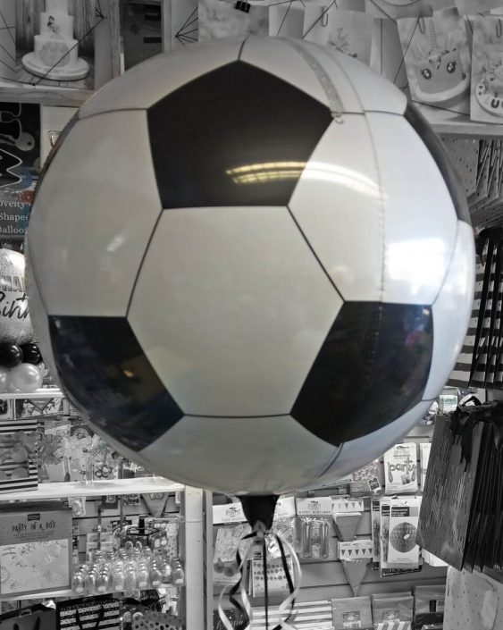 Football Orb balloon - Tamworth