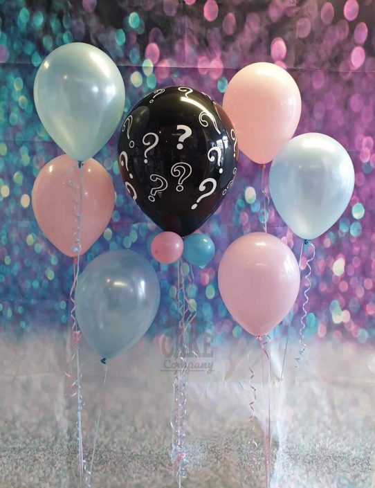 Gender reveal balloons bunches package - Tamworth, Lichfield, West Midlands