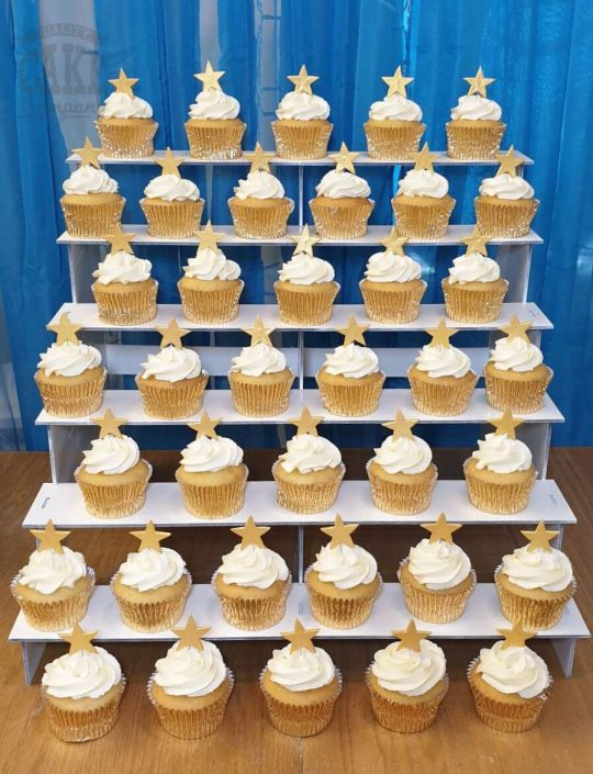 cupcakes on display perfect for parties and events - tamworth