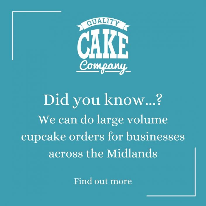 large volume cupcakes - Tamworth West Midlands
