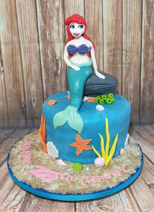 Little mermaid birthday cake - tamworth