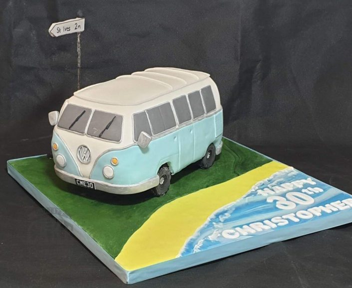 VW campervan cake - tamworth