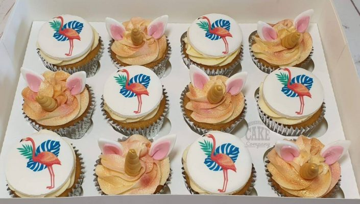 flamingo-unicorn-cupcakes