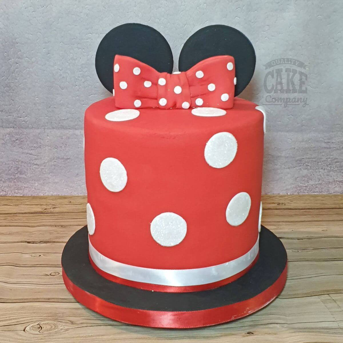 Remarkable Minnie Mouse Theme Cakes Quality Cake Company Funny Birthday Cards Online Alyptdamsfinfo