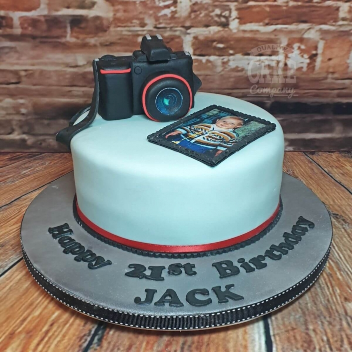 Photo and camera theme birthday cake - Tamworth