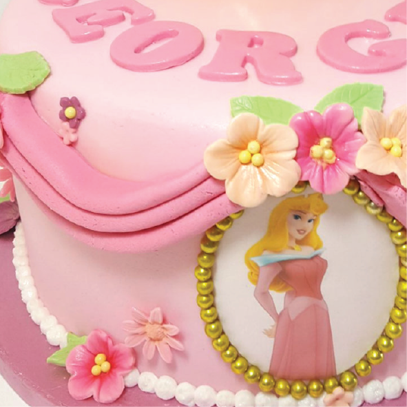 Princess cake swags