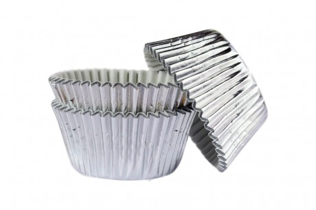 silver cupcake muffin cases Tamworth