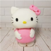 Fondant sugar hello kitty custom cake topper