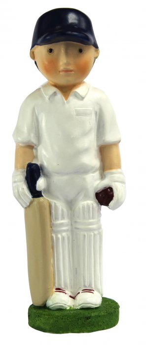 Cricketer cricket cake topper decoration