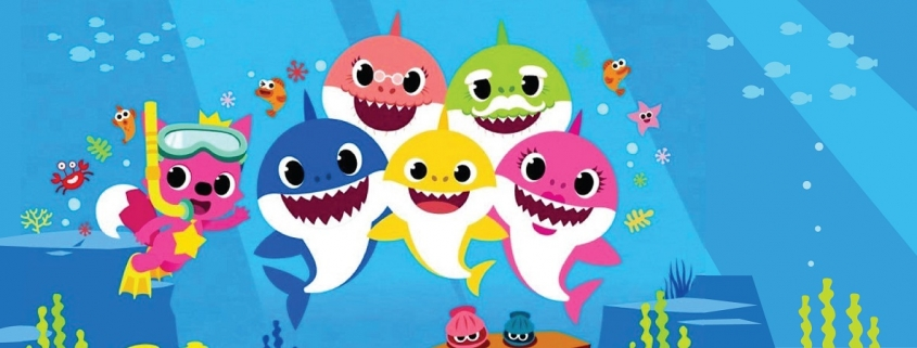 Baby shark cakes and balloons - Tamworth West Midlands