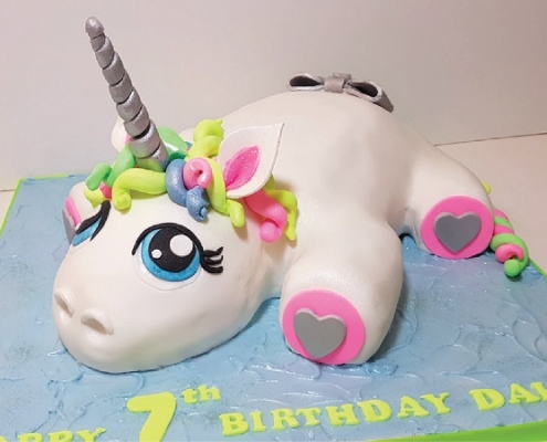 Unicorn cakes - tamworth west midlands