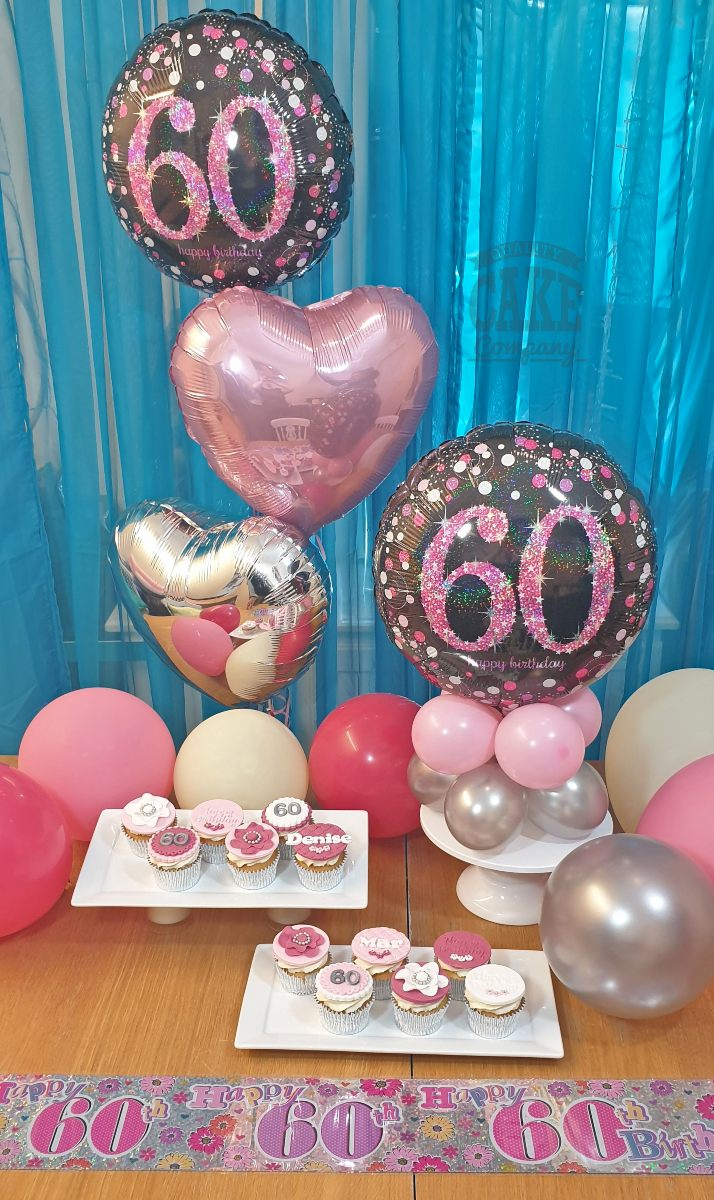 Home party cake and balloon package - delivery - Tamworth
