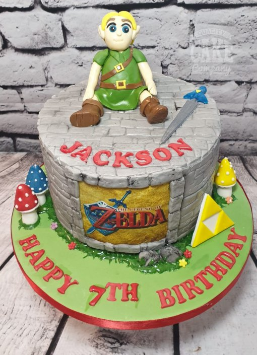 Zelda theme cake - Tamworth