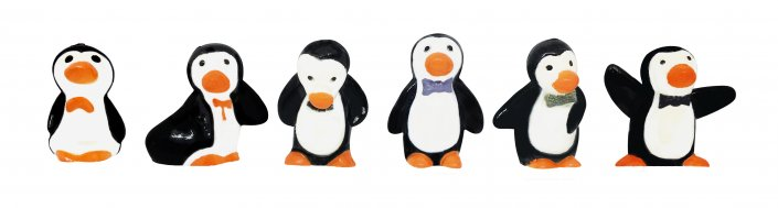 Christmas Cake Decorations - PENGUINS