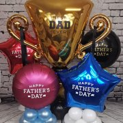 Father's Day balloons Tamworth Sutton Coldfield