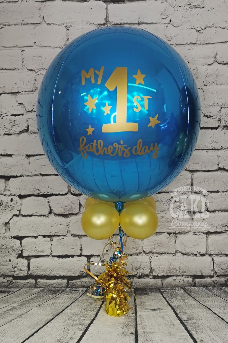 First Father's Day Orb balloon Tamworth